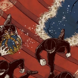 yuko shimizu is an incredible illustrator and some of her images are just so fun!  i particularly love her thesis.
