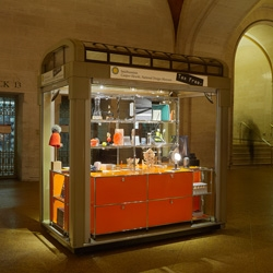 On gorgeous pop up shop ideas ~ The Cooper Hewitt Musuem shop has opened one in NYCs Grand Central Station!