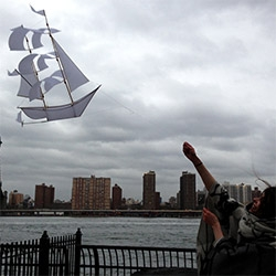Haptic Lab's Sailing Ship Kite