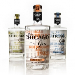 Old Chicago Gin is a brand of American Gin inspired by the spirit's notorious history in Chicago during the 1930's Prohibition Era.