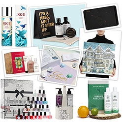 NOTCOT Packaging & Pampering Gift Guide 2015. Here's a collection of special holiday beauty sets for him/her that have lovely packaging - from beautiful illustrations to fun form factors and more.