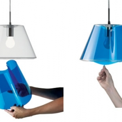 Create your own lampshade with LeKlint ! Just change the innershade and a new lamp is born.