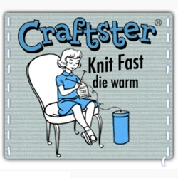 Crafters.org cleverly rifted wry humor into their logo designs. I love how they pair brilliant copy with vintage-styled graphics.