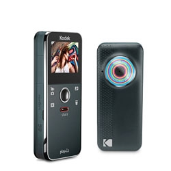 The slim Kodak Playfull Video Camera offers 1080p HD and takes 5MP photos.