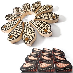 House Industries' Counting Koi wooden blocks!