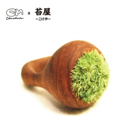 Real Moss Ring by Cometman x Kokeya. You have to give some water to this ring everyday..