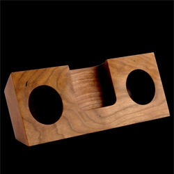 KOOSTIK, the natural alternative to electronically amplified iPhone sound docks. Available in a number of finishes.