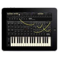 Ooh updated KORG iMS-20 app for iPad