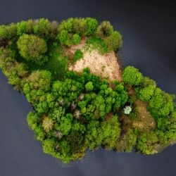 Amazing aerial photographs of the Polish landscape captured by paraglider Kacper Kowalski.