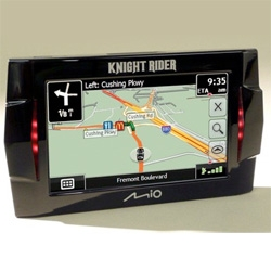 Knight Rider themed Mio GPS! With the voices, lights, etc! (I'd love to have this voice instead of the horrid Dash one)