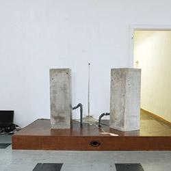 Concrete sounds - Gruppenausstellung, Galerie Raum Scheidswald, Berlin