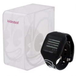Kidrobot and Nooka have teamed up to make one SEXY watch. Too bad there's only 150 of these beasts. You know damn well they're gonna' sell out in like 12 seconds.