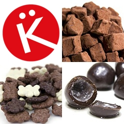 Diane Krön Chocolatier - the crunchy bears, K truffles, liquor balls and more... finally ONLINE! My favorite chocolates (since i was a kid!) can now be ordered and shipped all over the US.