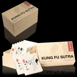 KungFu Sutra Condoms ~ playfully packaged for the lovers+fighters out there