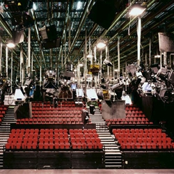 Behind the lens: Kathrin Kur's photographs of TV studios reveal the world behind the cameras