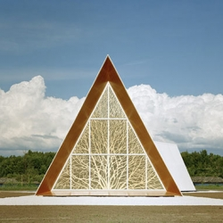 Ecumenical chapel by Finnish architects AOA.