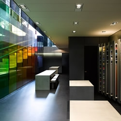 Danish textiles giant, Kvadrat have had their new London HQ designed by ex-Factory Records icon, Peter Saville....