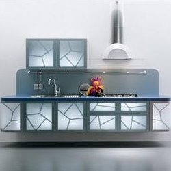 Kitchen design as I have never seen.  Created and designed by La Cucina Alessi.