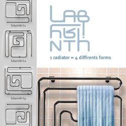"Radiator ""Labyrinth"" - heat get lost in your house!"