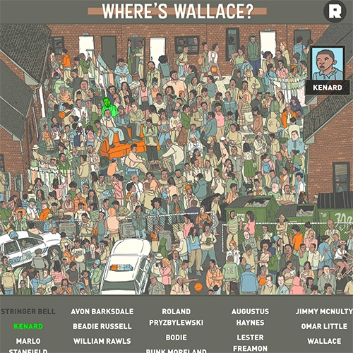 Where's Wallace? An interactive Where's Waldo-esque adventure inspired by The Wire.