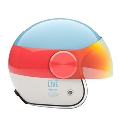 Jet helmet from Lacoste LAB for Lacoste L!VE 2013 collection
