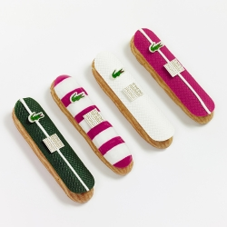 Lacoste teamed up with french caterer Fauchon to create exclusive cream puff pastries filled with chocolate.