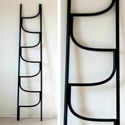 Charlie Styrbjörn's Ladder ~ made of bent ash wood