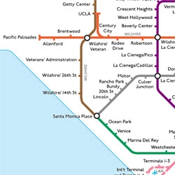 If LA had a london style underground... here's my side of town. by the transit coalition