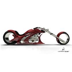 The Lamborbiker is a concept bike from designer Flavio Adriani, who was inspired by Marcello Gandini, designer of the Osmos wheel and the Lamborghini Countach.