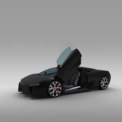 Lamborghini Levo concept follows the line of the Lamborghini Murcielago. Designed by Mauro Lecchi, the concept supercar intends to stay close to the production model.