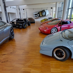 You can now take a tour of the Lamborghini museum in Sant'Agata Bolognese on Google Street View. Climb in some of the cars and take a look around!