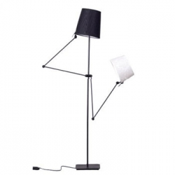 French designer Benjamin Morin new floor lamp 'Pret-a-Porter' has a human like figure, look a bit humorous & full of character.