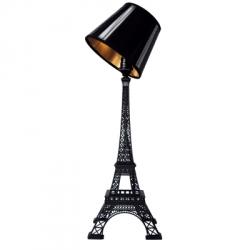 Love Paris. Lampe Tour Eiffel je t'aime- finition laquée noire - Designer : Pierre GONALONS.