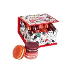 Albert Elbaz, artistic director of Lanvin collaborate with the famous Parisian pastry Ladurée to create a limited edition macaroon set.