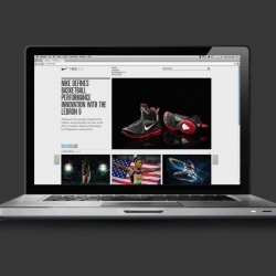 Hybrid Design creates a unified experience for all Nike Inc. worldwide brands, consolidating all corporate and media pages into a single web portal.