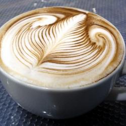Latte Art by Jack Hanna, 2007 World Latte Art Champion
