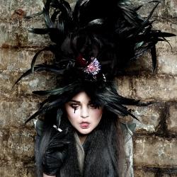 Photographer Laura Kallasvee's (Estonia) portfolio page with fashion, advertising and art works.