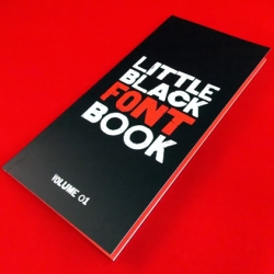 Little Black Font Book from HypeForType.