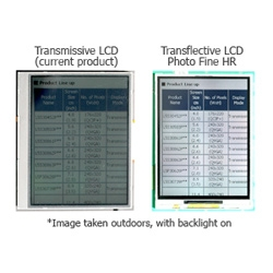 Epson Imaging Devices Develops a-TFT Photo Fine HR LCDs for Mobile Devices ~ so now your screen can be seen in direct sunlight!