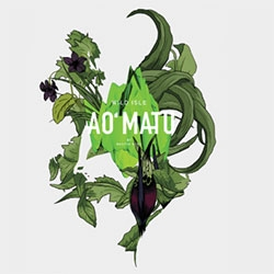 AO MATU poster on 210g paper with wild and flora illustrations designed by Nastya KFKS. See more of the series in the KFKS Store.