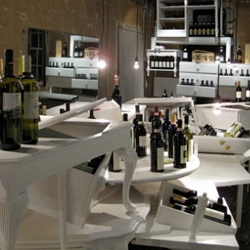 Le Vigne is a new wine shop designed to be similar to navigating an Italian vineyard.