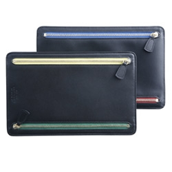 Smythson Zipped Currency Case ~ Smart idea when you need to juggle too many currencies on the same trip