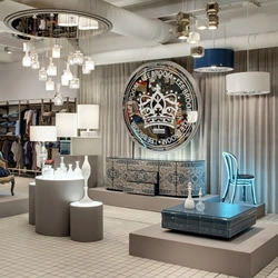 Opening last week at London's one-stop, contemporary lifestyle store, The Shop at Bluebird, was the first retail space for one of the UK's most exciting young product designers, Lee Broom.