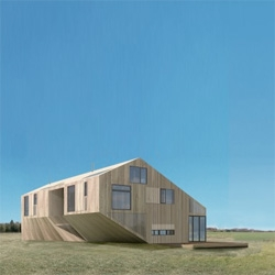 A stylish wooden 'loft barn' for the Hamptons by NY based architects L.E.FT