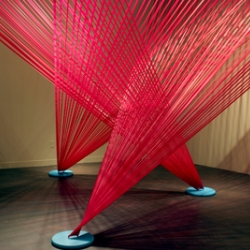 Megan Geckler installations.