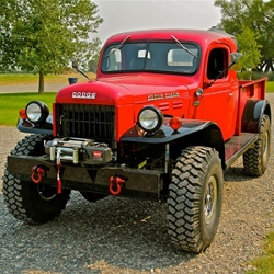 Handcrafted by artisan auto mechanics at Legacy Classic Trucks in Jackson Hole, Wyoming these classic Dodge trucks get a complete overhaul and can be custom ordered.