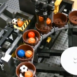 The Lego Great Ball Contraption by Aklyuky is a lego machine that sorts and moves little balls along an incredible path of robots and contraptions. The machine took over 2 years to make. You have to see this!