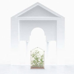 A greenhouse made of LEGO by Sebastian Bergne will be on display in Covent Garden during September's London Design Week.