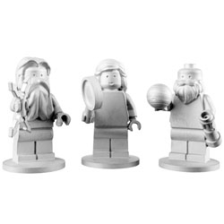 Lego in space! Three LEGO figurines (Galileo, Jupiter and Juno) are headed for a five-year mission to Jupiter.