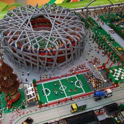 The Hong-Kong Lego squad pumped out this representation of the Beijing olympics. The detail is amazing!